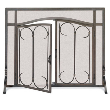 18428 Iron Gate Screen With Doors