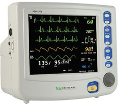 Criticare 8100E nGenuity Patient Monitor