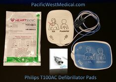 Philips Adult Defibrillator Pads - T100AC-Philips Radiolucent HeartSync