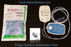 Philips Pediatric Defibrillator Pads -Pediatric Philips HeartSync
