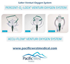 Salter Labs 1050 Accu-flow¨ air entrainment mask system