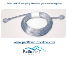 Salter Labs 4415 ETCO2 Tubing 15ft. Male to Female