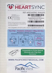 HeartSync Replacement Pads for Philips FR2 AED Product Information