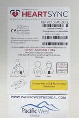 Zoll Adult Defibrillator Pads (Sterile) - C100AC-Zoll HeartSync (Box of 10)