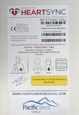 Zoll Adult Defibrillator Pads - T100AC-Zoll HeartSync (Box of 10)