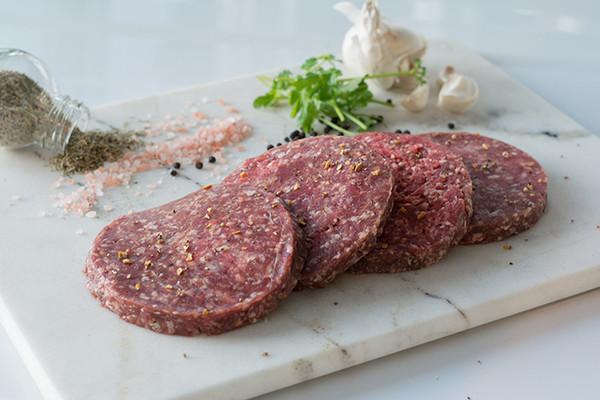 Organic Halal Burgers