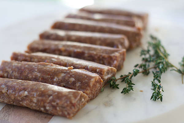 Organic Beef Hot Italian Sausage