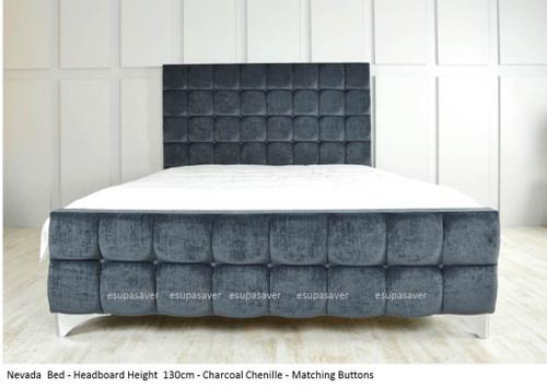 Nevada Bed Frame Upholstered Chenille