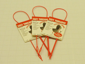 3 Pack - Easy Threader Flexible Needle