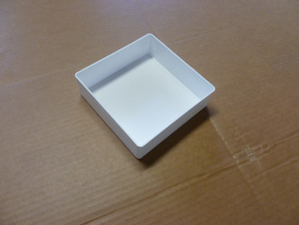 "6"" x 6"" x 2"" Medical White Box     (ACTUAL DIMENSIONS: 5.875"" X 5.875"" X 1.75"")"