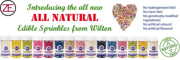 Wilton All Natural Edible Sprinkles