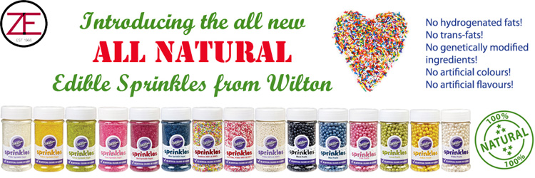 Wilton All Natural Edible Sprinkles