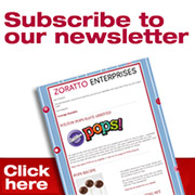 Subscribe to Zoratto Enterprises Newsletter