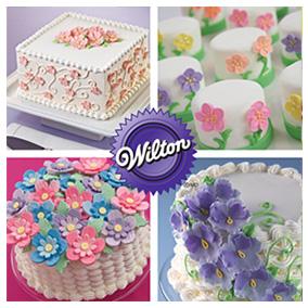 Flowers & Cake Design Wilton Course