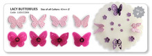 Lacy Butterflies Cutter Set