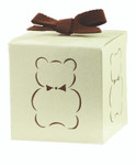 Eco-Occasions Silhouette Bear Favour Box