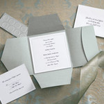 Traditional Premium Silver Invitations Kits