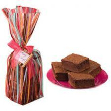 Brownie Stripes Treat Bags