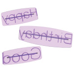 Message Press Set 6pc