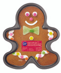 Giant Gingerbread Boy Cookie Pan