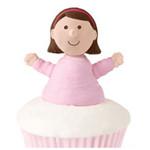 Girl Cupcake Topper