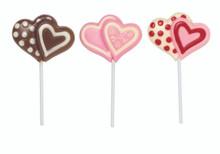 Double Hearts Lollipop Mould