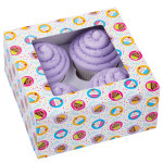 4 Cavity Party Cupcake Box