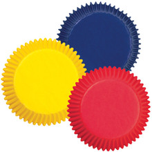 Mini Primary Colours Baking Cup