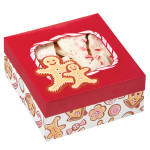 Gingerbread Cottage Medium Treat Boxes