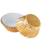 Standard Gold Foil Baking Cups