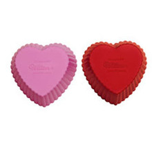 Hearts Silicone Baking Cups