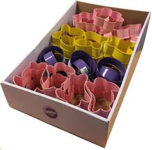 CDU of 48 cookie cutters (12 of each design)