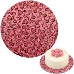Cake Board - Roses