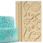 Fondant and Gum Paste Mould - Lace