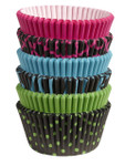 Multi Pack Baking Cups - Neon Darks