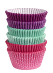 Multi Pack Baking Cups - Pink/Turq/Purple
