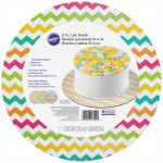 Assorted Brights Round Cake Board Set