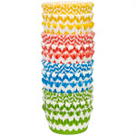 Chevron Pattern Baking Cups Value Pack