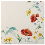 Poppy 3 Ply Napkins - 33cm x 33cm