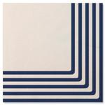 Navy 3 ply napkins - 33cm x 33cm