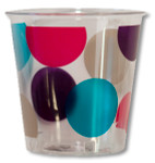 Pois Multicolour Kristall Cup - 300mL