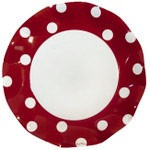 Pois Red Large Plate - 27cm