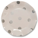 Pois Silver Small Plate - 21cm