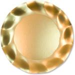 Satin Gold Large Plate - 27cm