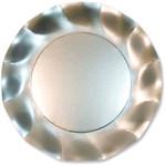 Satin Silver Small Plate - 21cm