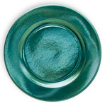 Aquamarine Righe Charger Plate - 32.4cm