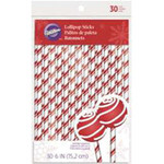 Candy Cane Lollipop Sticks