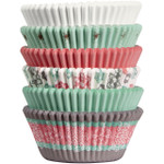 Snowflake Mini Baking Cups Tube - 150pc