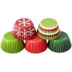 Holiday Mini Baking Cups Tube Set (PRE-ORDER)