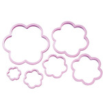 Nesting Flower Cookie Cutter Set